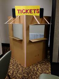 how to make a photo booth how to make a ticket booth search maddi