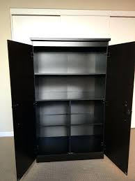 Storage Bins Plastic U2013 Mccauleyphoto Black Storage Cabinet With Doors Kitchen Room Design Furniture