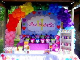 my pony decorations my pony birthday party ideas photo 2 of 24 catch my party