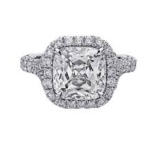radiant cut halo engagement rings 3 52 carat radiant cut halo pave engagement ring