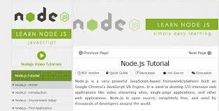 bootstrap tutorial tutorialspoint node js tutorial tutorialspoint on air code