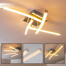 Ceiling Light Led Georgina Ceiling Light Led Chrome H3009260 Illumination Co Uk