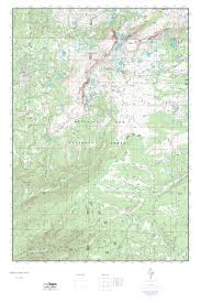 Wyoming Topo Map Mytopo Medicine Bow Peak Wyoming Usgs Quad Topo Map