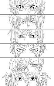 akatsuki coloring pages lineart akatsuki no yona by kuronore on deviantart