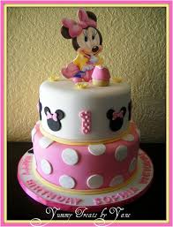 baby minnie mouse 1st birthday baby minnie 1st birthday cake how gorgeous is this babies 1st