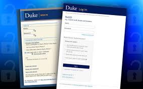 Login Duke Netid Login Page Gets New Look Duke Today