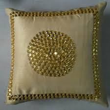 Cusion Cover Cushion Cover Black Golden Kc Home Linen Manufacturer In