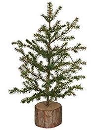 amazon com sullivans small artificial pine tree with tree stump