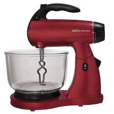 Kitchen Stand Mixer by Sunbeam Mixmaster Stand Mixer Red Fpsbsmglr Sunbeam