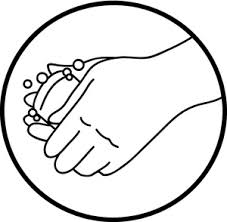 Hand Washing Coloring Sheet - hand washing hand wash sign clip art and others art inspiration