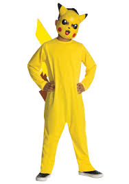 party city halloween costumes boys kids pikachu deluxe costume child pokemon halloween costumes