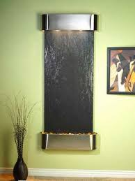 Decorative Water Fountains For Home by Modern Wall Fountains For Tranquil Interior Decorating And Home