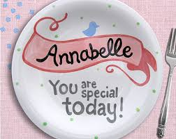 plate you are special you are special plate etsy