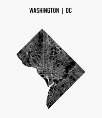 Maps Of Washington Dc by Washington D C Schematic Streets Map Schematic Streets Map Of