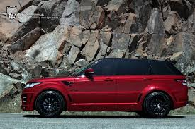 land rover purple very brutal lumma range rover sport clr rs
