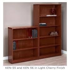 Sauder Premier 5 Shelf Composite Wood Bookcase Bookcase Cherry Finish Bookcase 5 Shelf 72 Sauder Beginnings 5