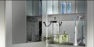 bathroom medicine cabinets with electrical outlet luxury medicine cabinets products by glasscrafters luxury