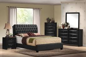 King Platform Bed Set Acme 14347ek Ireland 4pcs Black King Platform Bedroom Set