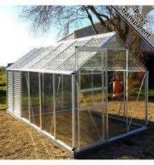 destockage serre de jardin serres de jardin alu et polycarbonate tunnels avec bâche