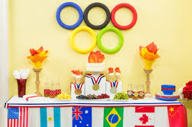 how to decorate birthday party at home how to home u0026 family diy olympic tablescape hallmark channel