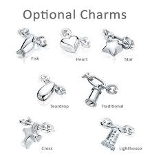 jewelry bracelet charms images Fish charm oval link sterling cremation jewelry bracelet for ashes jpg