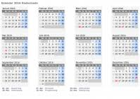 Kalendar 2018 Nederland Kalender 2016 Niederlande Mit Feiertagen