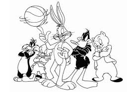 bugs bunny friends coloring pages disney bebo pandco