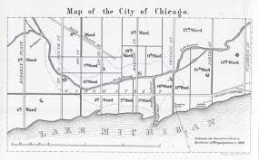 Map Of City Of Chicago by Dr Robert C Hamill U2013 The Geography Of Erysipelas In Chicago