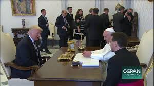 trump pope francis president obama meets pope francis mar 27 2014 video c span org