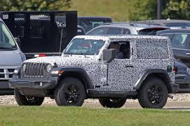 headlights jeep wrangler spyshots 2018 jeep wrangler jl reveals grille and headlights