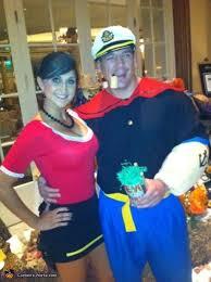 olive oyl costume oyl and popeye costume