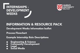 cv template qub development weeks internships employer gateway queen s