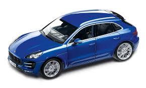 Porsche Macan Blue - macan turbo 1 18 macan model cars porsche driver u0027s selection