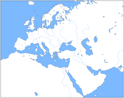 Middle East Map Europe And Middle East Map Blank Image Gallery Throughout Of The