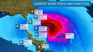 East Coast Of Florida Map by Gusts Over 70 Mph Are Now Affecting The East Coast Of Florida