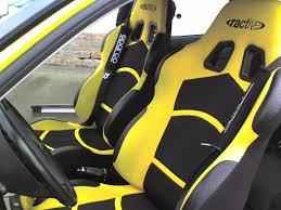 siege auto sport tuning car ibiza tuning jaune préparation complète et voitures de