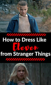 halloween costume eleven from stranger things casey la vie