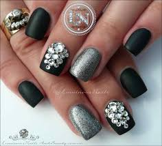 easy nail art glitter elegant acrylic nail designs glitter ideas nail design art