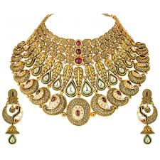 gold necklace set jewellery images Bridal gold jewellery sets online buy gold earrings online png
