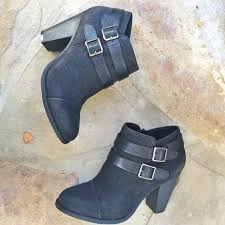 s boots buckle lc conrad for kohl s two buckle ankle boots shoes shoes