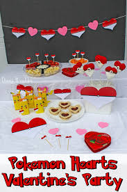 valentines party decorations pokémon s day party with free party decorations