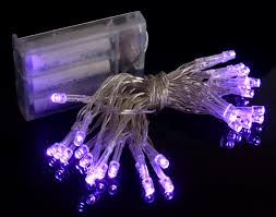 10 mini light string 30 led purple mini string lights 10 8 ft clear cord battery