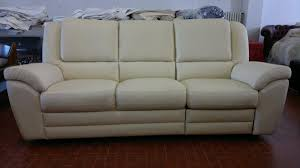 4 Seat Reclining Sofa by Three Seater Leather Sofa With Electric Recliner Alba Armchair