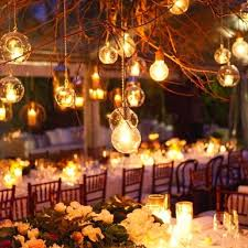 Backyard Wedding Lighting Ideas by 28 Best Luzinhas Wedding Lights Images On Pinterest Marriage