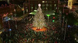 parade of lights fort worth 2017 fort worth christmas tree sun design me