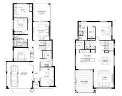 floor plans for a 4 bedroom house 4 bedroom house designs perth single and storey apg homes