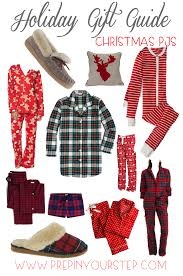 prep in your step holiday gift guide christmas pajamas