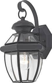 Quoizel Wall Sconce Quoizel Ny8315k Newbury Light Outdoor Wall Lantern Mystic Black
