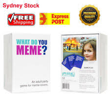 Meme Board Game - genuine what do you meme board card funny fun game basic main party