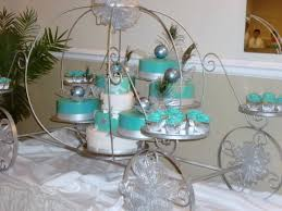quinceanera cinderella theme cinderella sea foam green carriage quinceaneras cake quinceanera